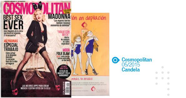 Candela, Cosmo, Mayo 2015
