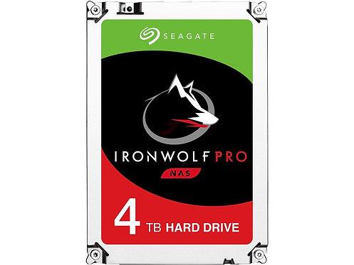 SEAGATE IRONWOLF PRO ST4000NE0025 - HARD DRIVE - 4 TB - SATA 6GB/S