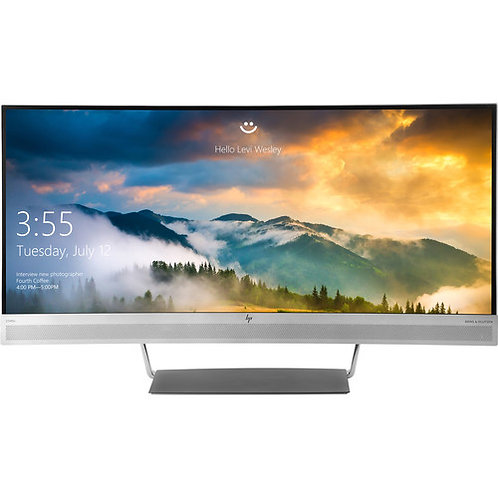 "HP EliteDisplay S340c 34"" 21:9 Curved LCD Monitor"
