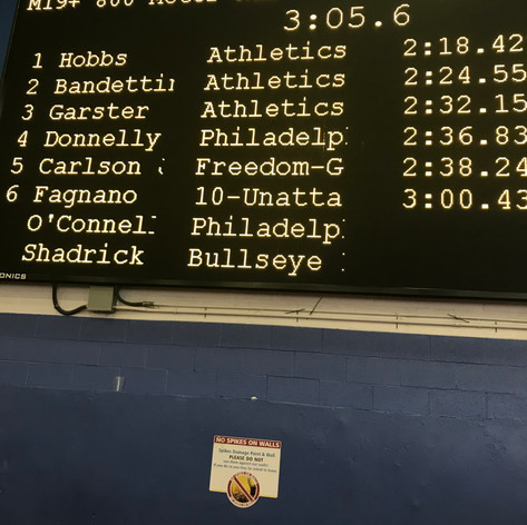800m results