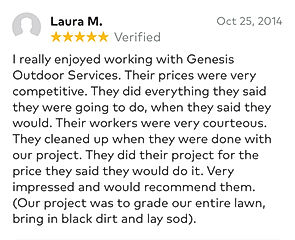 Review from Laura M.