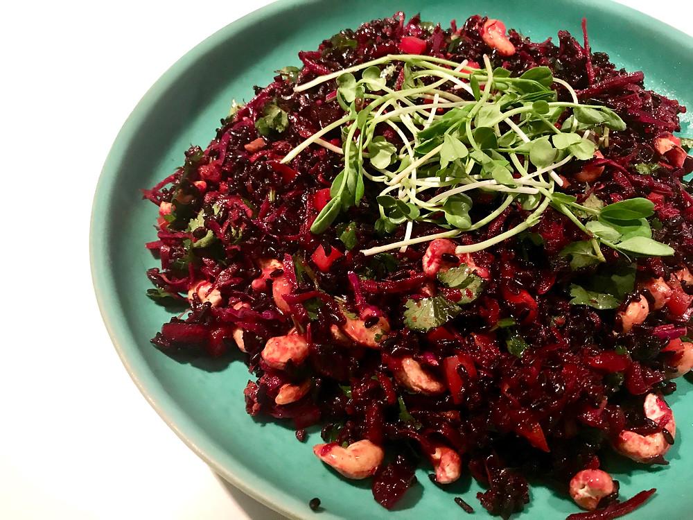 Polyphenol Rich Gut loving Salad