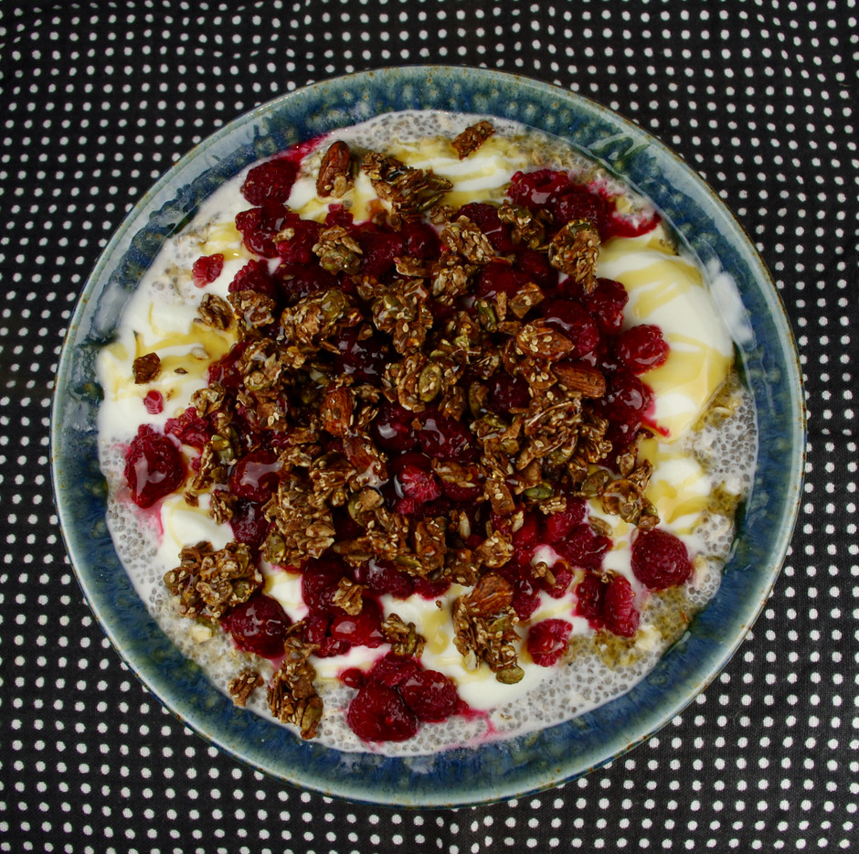 Chia and Oat Pudding