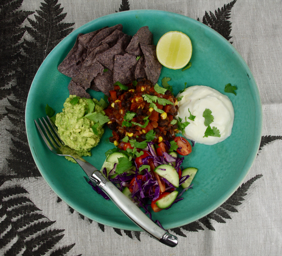Healthy Midweek Nacho Bowl