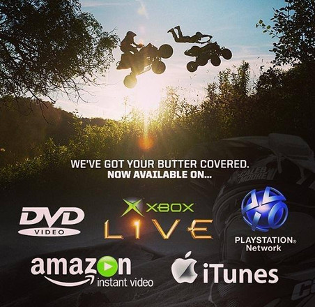 Butter_ All Moto Flavored Reached 1 on iTunes Sports ATV Big Air Tour