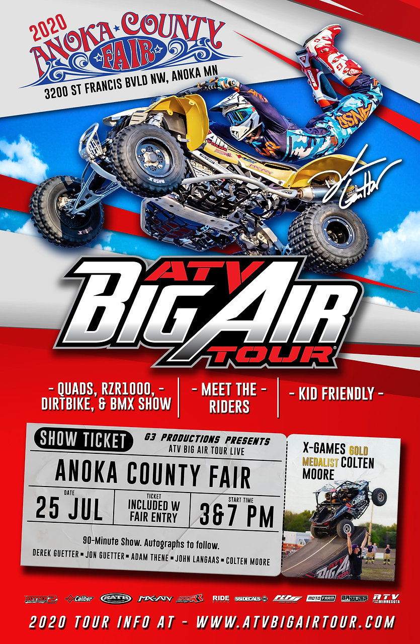 ATV Big AIr Tour Live 2020 Anoka County