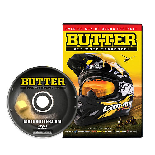 Butter: All Moto Flavored! DVD [2013]