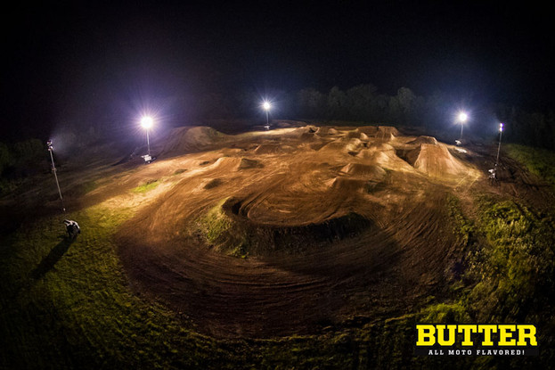 Jon Guetter Night time scene Butter All Moto Flavored
