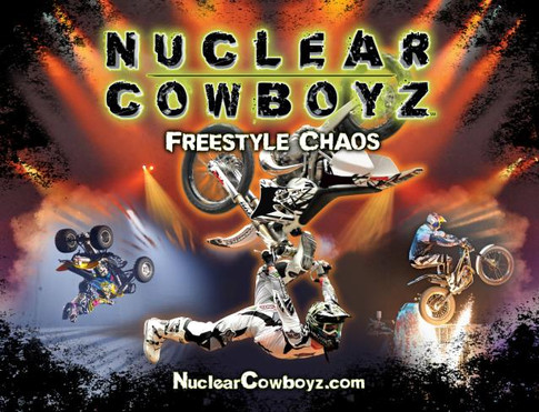 Derek Guetter Headlining for Feld Entertainments 'Nuclear Cowboyz'