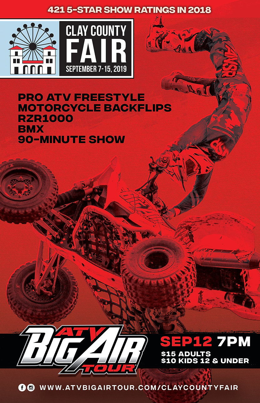 ATV Big Air Tour to perform at the Clay