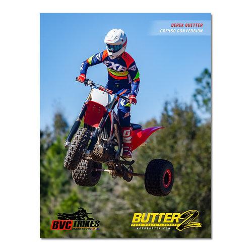 Honda CRF450 3-Wheeler Poster