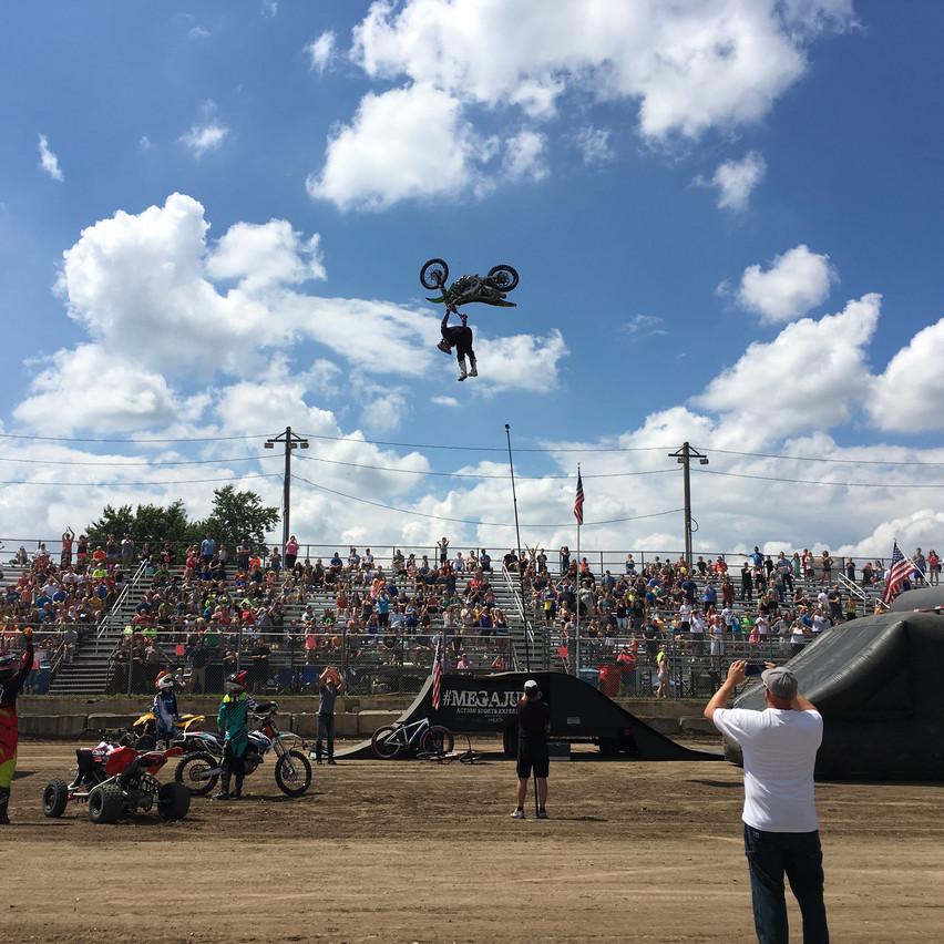 Rich Kearns ATV Big Air Tour Anoka County Fair Motocross Entertainment