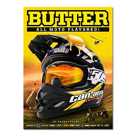 Butter: All Moto Flavored DVD Cover - 2013