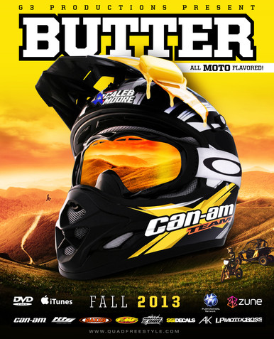 Butter: All Moto Flavored DVD Cover