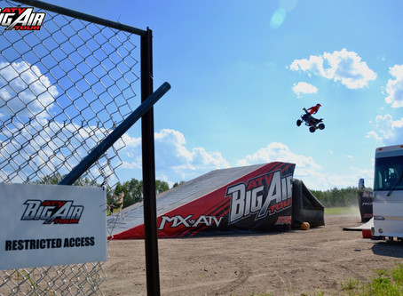 The Day I Rode My First ATV Big Air Tour Show