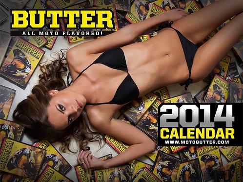 2014 Butter: All Moto Flavored! Calendar Memorabilia