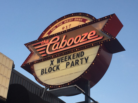 Performing for X Games Weekend at the Cabooze in Downtown Minneapolis