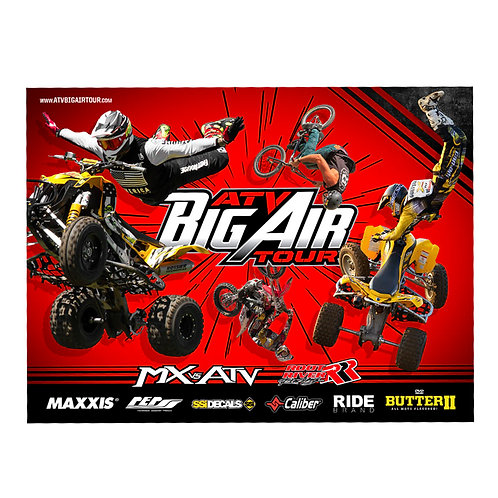 ATV Big Air Tour Team Poster