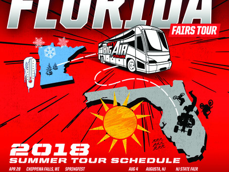 Touring Florida Fairs Winter 2018 - 2019!