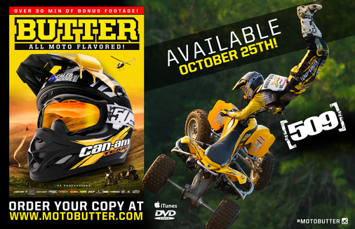 Butter All Moto Flavored 509 DVD