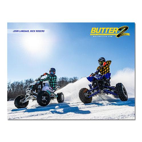 Minnesota Ice Racing Poster