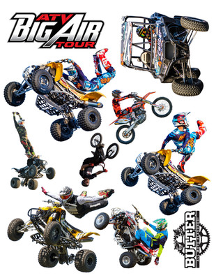 New Big Air Tour Sticker Sheet