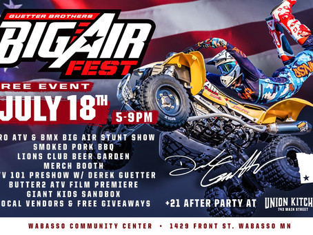 The 1st Annual Wabasso Big Air Fest - July 18, 2020