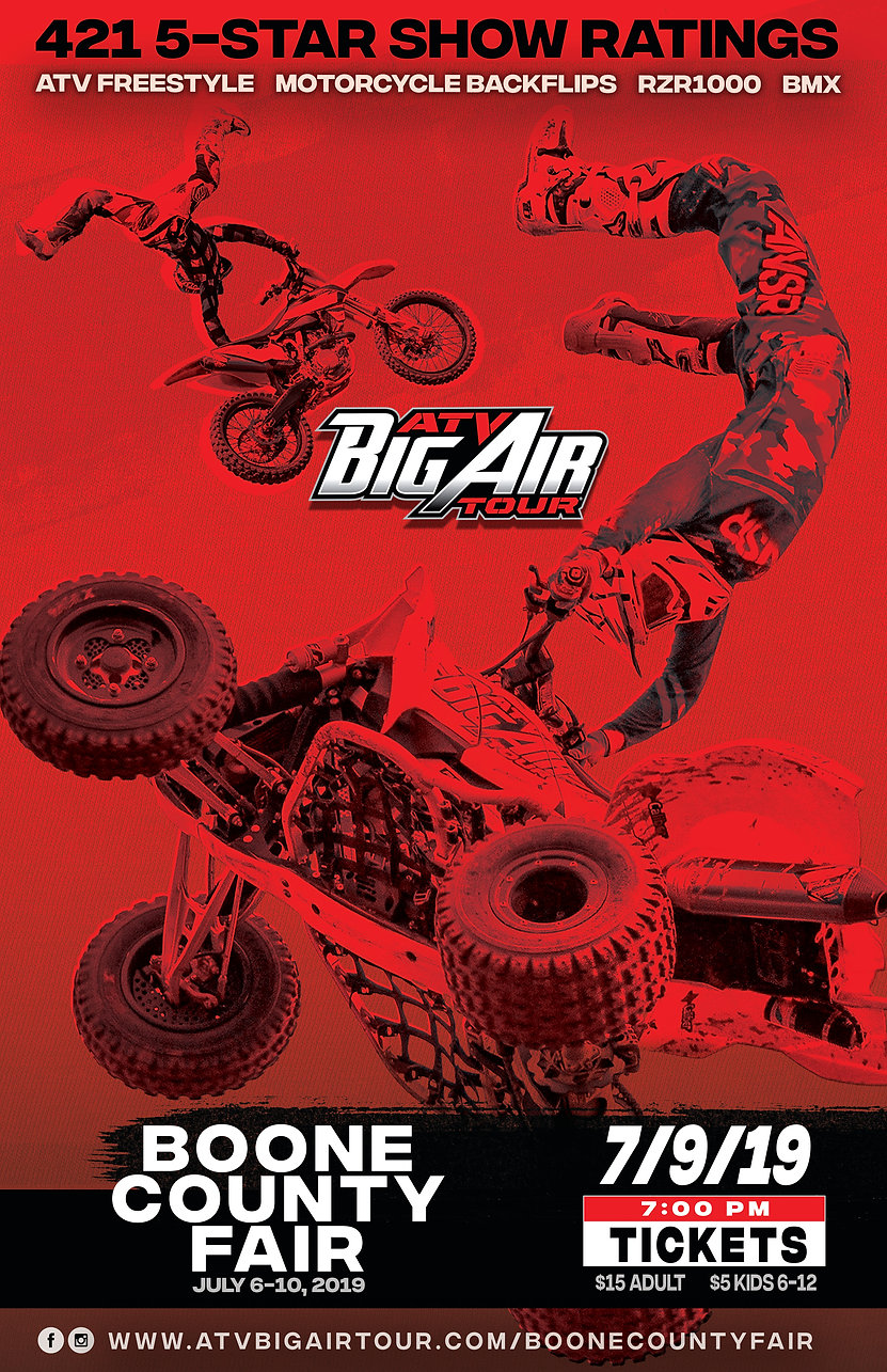 ATV Big Air Tour to perform at the Boone