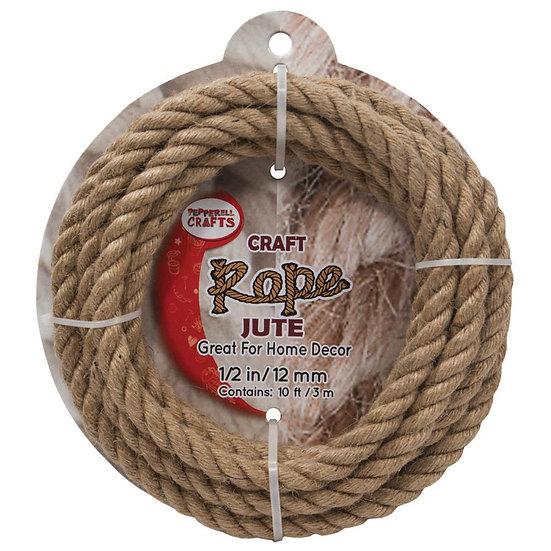 Natural Jute Rope 10 ft.