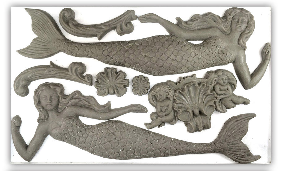 Sea Sisters Mermaid Mould