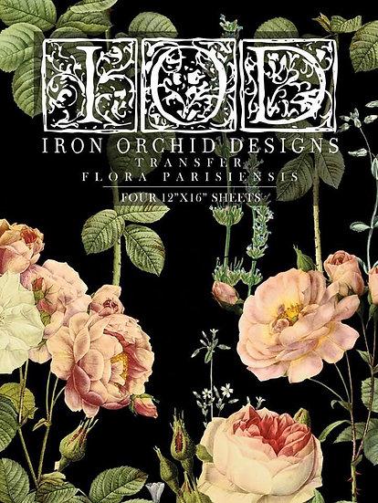 """Flora Parisiensis Transfer PAD - 12"""" x 16"""" 4 pages!"""
