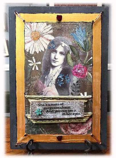"""Gypsy Chaos"" Art Panel"