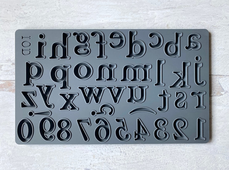 "Harper Alphabet Mould 6"" x 10"""