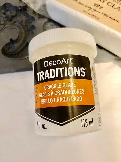 DecoArt® Traditions Crackle Glaze 4 fl. oz.