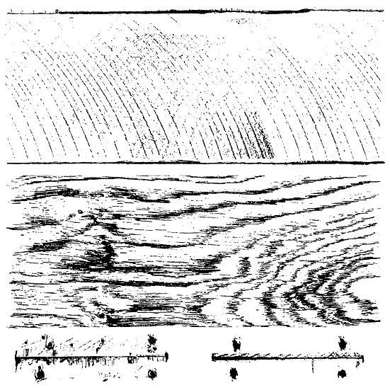 "Barnwood Plank Stamps (pkg of 2) 12"" x 12"" ea."