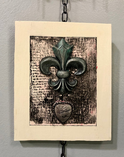 """New Orleans Mystic""Art Panel 6"" x 7.5"""