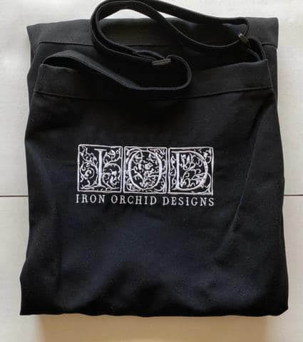 Iron Orchid Design Apron - Black