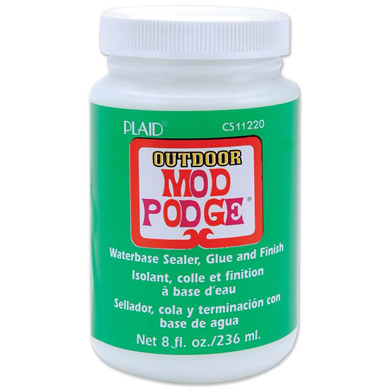 OUTDOOR Modge Podge 8 oz. Tub