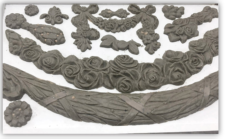Floral Swags Mould