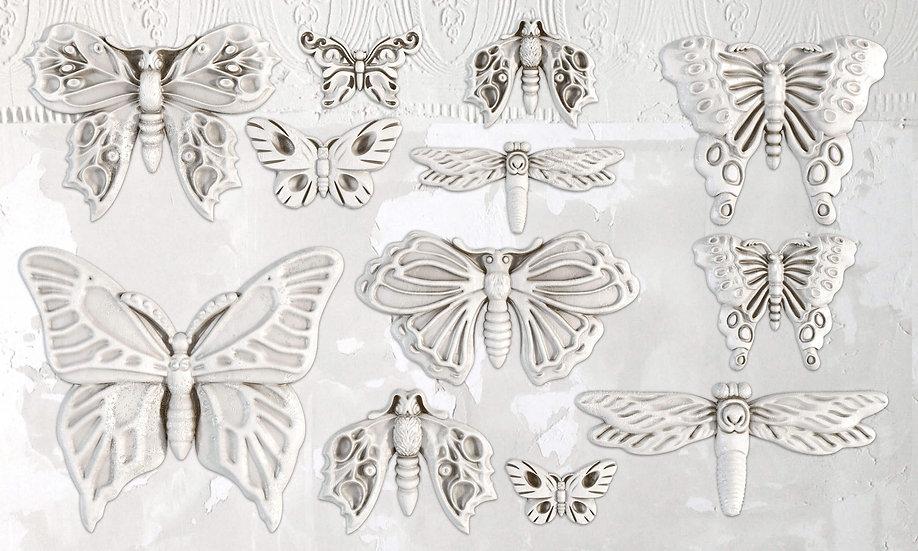 "Monarch Butterfly Mould 6"" x 10"""