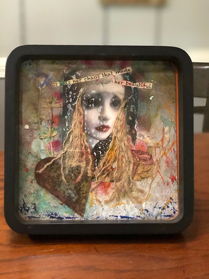 """""""It was her chaos that made her beautiful"""" Original Art Piece"""