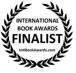 International Book Awards finalist badge