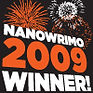 NaNoWriMo 2009 Winner badge