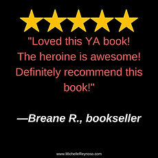 Review_ Breane R, Bookseller, The heroin