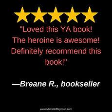 Review_ Breane R, Bookseller, The heroin
