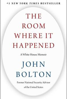 John Bolton writes a fly-on-the-wall style memoir