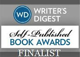 Writer Digest Self-Published Book Awards finalist badge