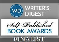 Writers Digest Self-Published Book Awards finalist badge
