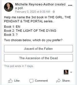 Help me Title the Next Book