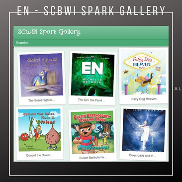 EN featured on SCBWI Spark Gallery 5-23-